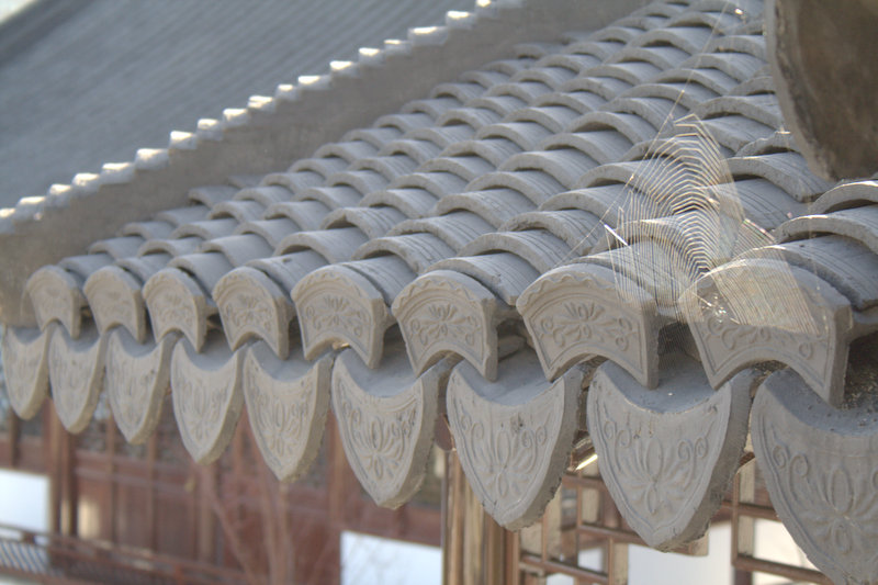 chinese-garden-handmade-roof-tiles